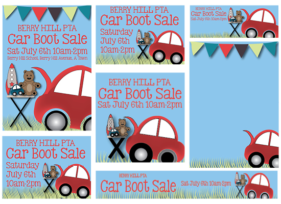 PTA Car Boot Template